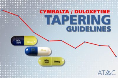 cymbalta tapering guidelines