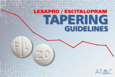 lexapro tapering guidelines