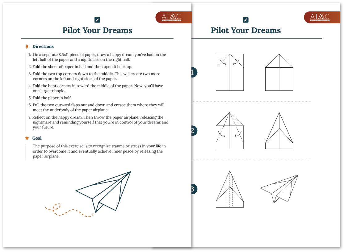 paper airplane exercise